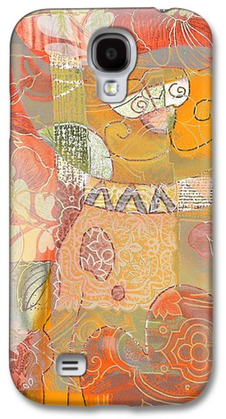Patchwork Kitty Galaxy S4 Case by Jacky Gerritsen