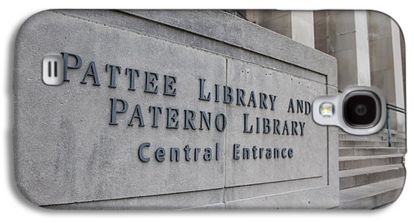Paterno Library At Penn State  Galaxy S4 Case