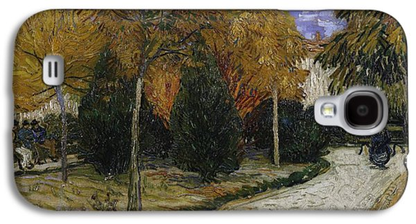 Path In The Park At Arles Galaxy S4 Case by Vincent Van Gogh
