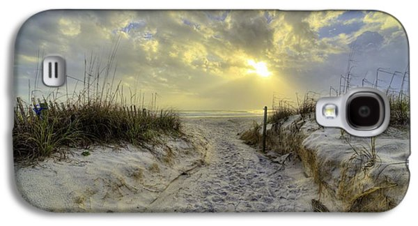 Path To Panama City Beach Galaxy S4 Case