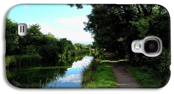 Pathway And Waterway Galaxy S4 Case by Miles Byworth