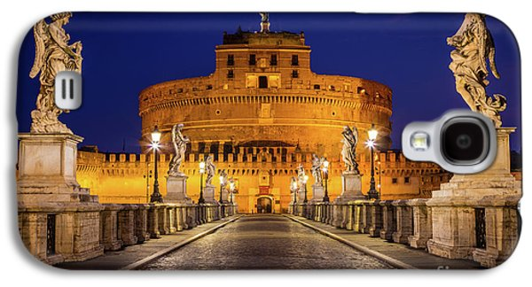 Pathway To Sant'angelo Galaxy S4 Case by Inge Johnsson