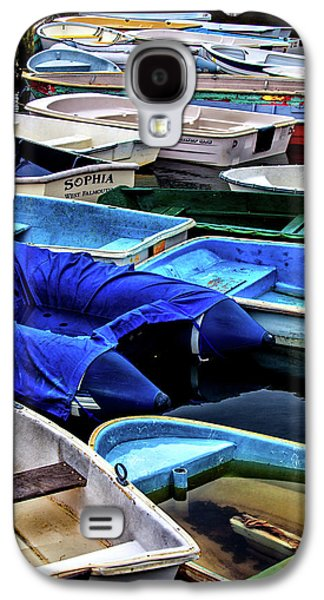 Patiently Waiting Dinghies Galaxy S4 Case by Karol Livote