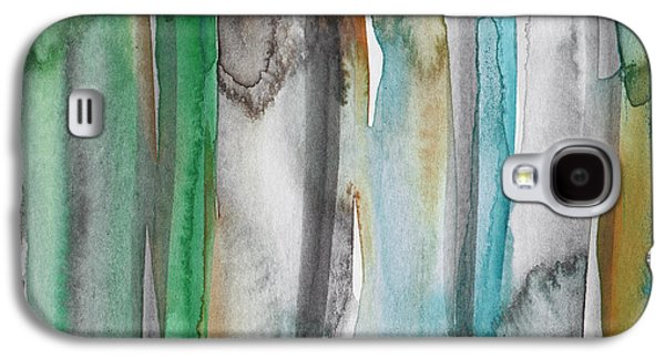 Patina- Abstract Art By Linda Woods Galaxy S4 Case by Linda Woods