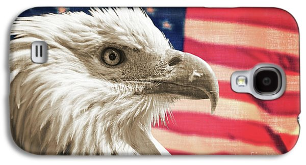 July 4 Galaxy S4 Case - Patriot by Delphimages Photo Creations