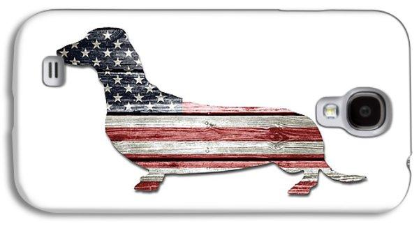 Patriotic Dachshund Galaxy S4 Case