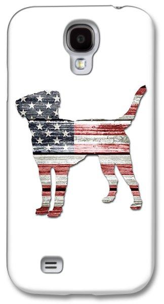 Patriotic Labrador Retriever Galaxy S4 Case