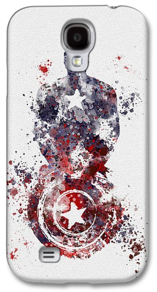 Patriotic Supersoldier Galaxy S4 Case by Rebecca Jenkins