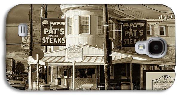 Pat's King Of Steaks - Philadelphia Galaxy S4 Case by Bill Cannon