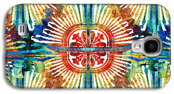 Pattern Art - Color Fusion Design 2 By Sharon Cummings Galaxy S4 Case