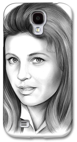Patty Duke Galaxy S4 Case by Greg Joens
