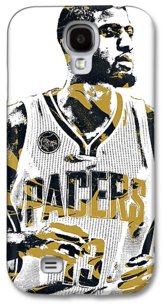 Paul George Indiana Pacers Pixel Art Galaxy S4 Case