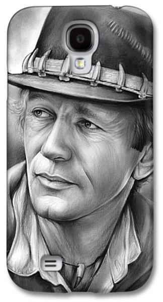 Paul Hogan Galaxy S4 Case by Greg Joens