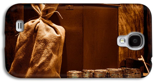 Pay Day - Sepia Galaxy S4 Case by Olivier Le Queinec