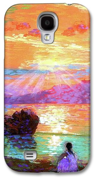 Travel Galaxy S4 Case - Peace Be Still Meditation by Jane Small