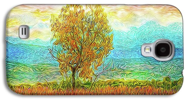 Peace Tree Sunset Galaxy S4 Case by Joel Bruce Wallach