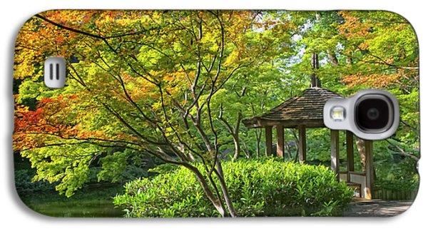 Fens Galaxy S4 Cases - Peaceful Autumn Galaxy S4 Case by Joan Carroll