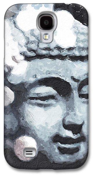 Peaceful Buddha 3- Art By Linda Woods Galaxy S4 Case