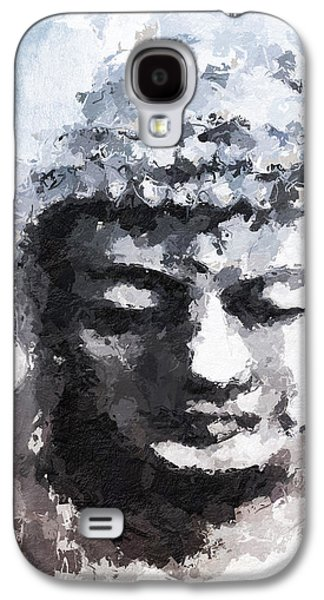 Peaceful Buddha- Art By Linda Woods Galaxy S4 Case by Linda Woods