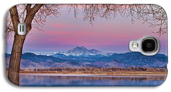 Peaceful Early Morning First Light Longs Peak View Galaxy S4 Case by James BO  Insogna