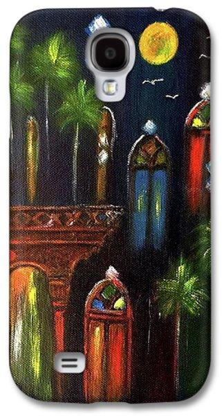 Peaceful Night  Galaxy S4 Case by Siran Ajel