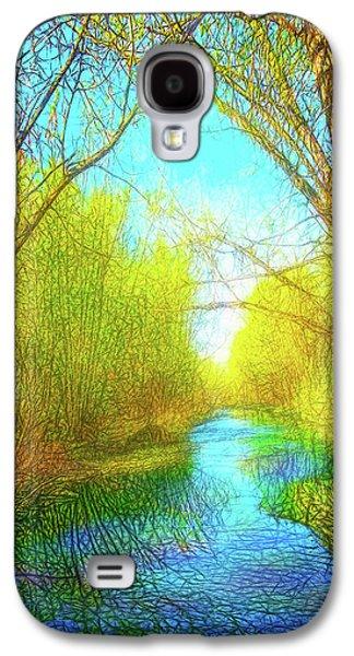 Peaceful River Spirit Galaxy S4 Case by Joel Bruce Wallach