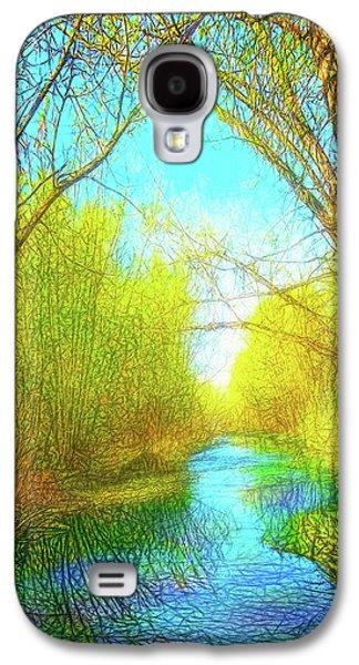 Peaceful River Spirit Galaxy S4 Case