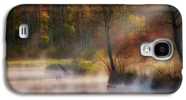 Geese Galaxy S4 Case - Peaceful Spring Morning by Bill Wakeley