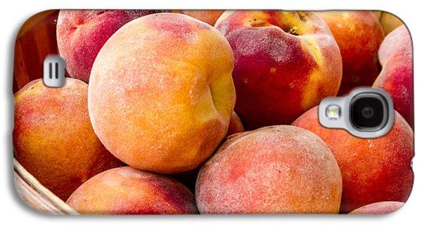Peach Beauties Galaxy S4 Case by Teri Virbickis