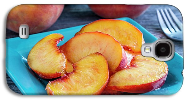Peaches For Lunch Galaxy S4 Case