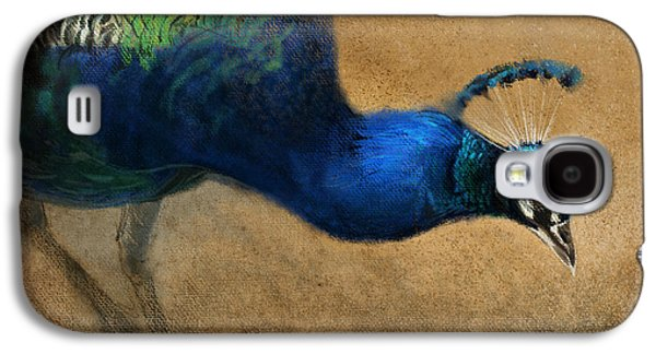 Peacock Galaxy S4 Case - Peacock Light by Aaron Blaise