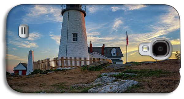 Pemaquid Point Lighthouse At Sunset Galaxy S4 Case