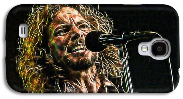 Pearl Jam Eddie Vedder Collection Galaxy S4 Case by Marvin Blaine