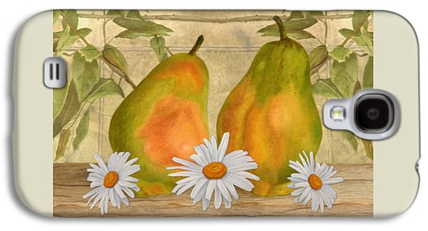 Pears And Daisies Galaxy S4 Case