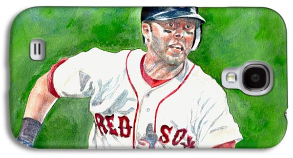 Pedroia Galaxy S4 Case by Nigel Wynter
