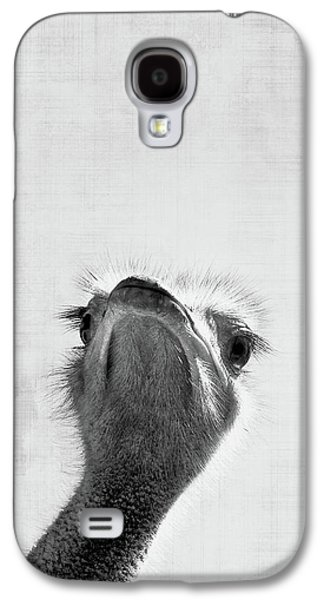 Ostrich Galaxy S4 Case - Peekaboo Ostrich by Delphimages Photo Creations