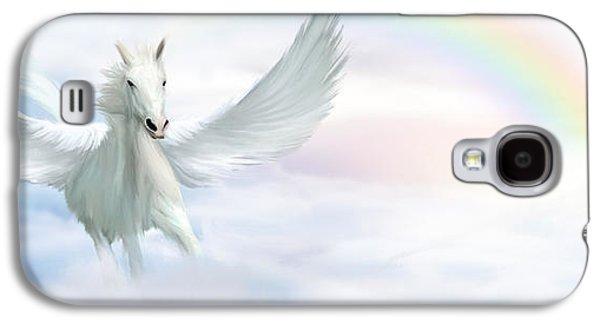 Pegasus Galaxy S4 Case by John Edwards