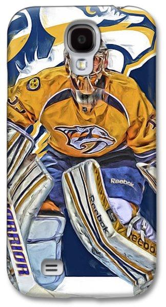 Pekka Rinne Nashville Predators Galaxy S4 Case by Joe Hamilton