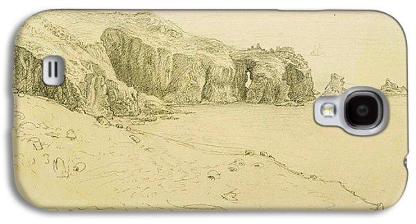 Pele Point, Land's End Galaxy S4 Case by Samuel Palmer