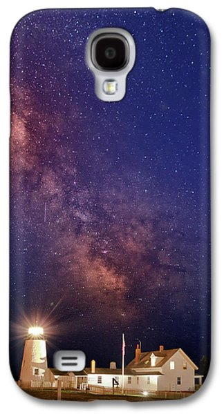Pemaquid Point Lighthouse And The Milky Way Galaxy S4 Case