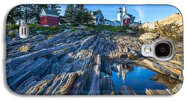 Pemaquid Point Lighthouse Maine Galaxy S4 Case by Diane Diederich