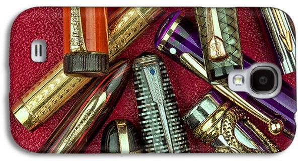 Swan Galaxy S4 Case - Pen Caps Still Life by Tom Mc Nemar