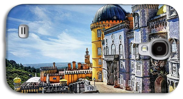 Pena Palace In Sintra Portugal  Galaxy S4 Case by Carol Japp