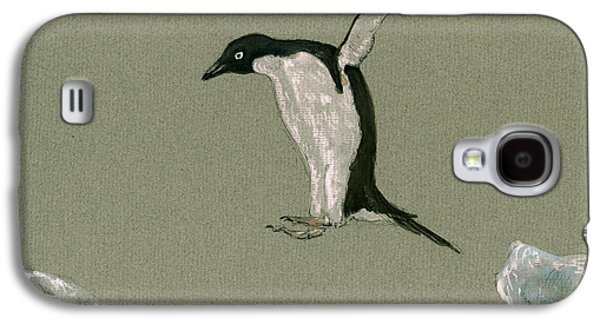 Penguin Jumping Galaxy S4 Case