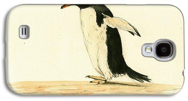 Penguin Walking Galaxy S4 Case