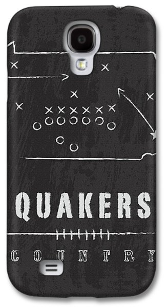 Penn Quakers Country Galaxy S4 Case