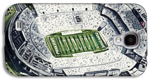 Penn State Beaver Stadium Whiteout Game University Psu Nittany Lions Joe Paterno Galaxy S4 Case
