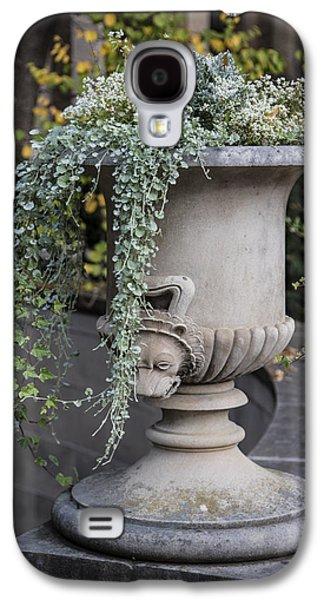 Penn State Flower Pot  Galaxy S4 Case by John McGraw