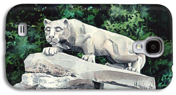 Penn State Nittany Lion Shrine University Happy Valley Joe Paterno Galaxy S4 Case by Laura Row