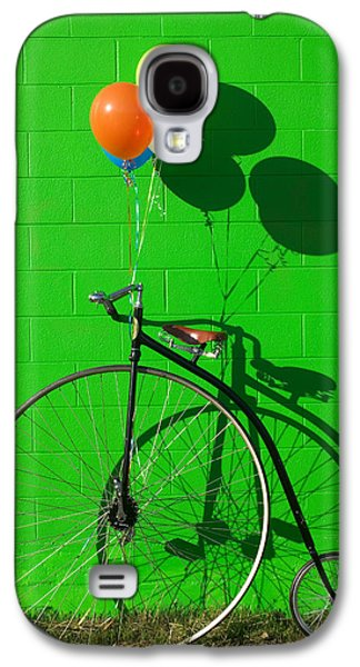 Bicycle Galaxy S4 Case - Penny Farthing Bike by Garry Gay